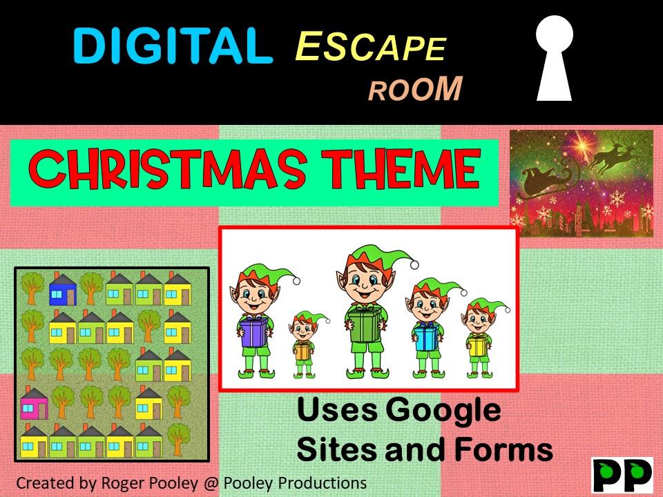Digital Escape Room - Christmas theme