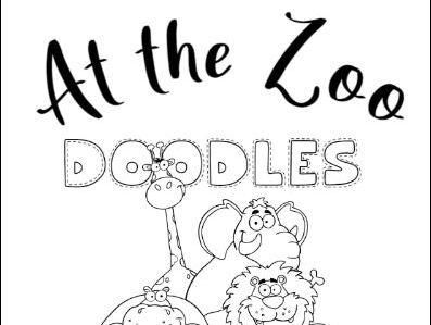 At the Zoo Doodle Fun