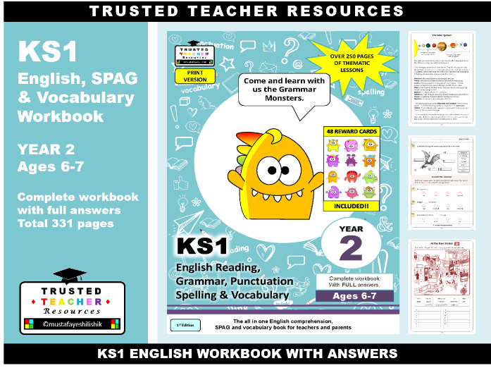 KS1 English & SPAG Year 2 (Ages 6-7)