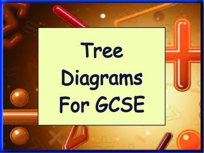 Tree Diagrams for GCSE - 14 full questions