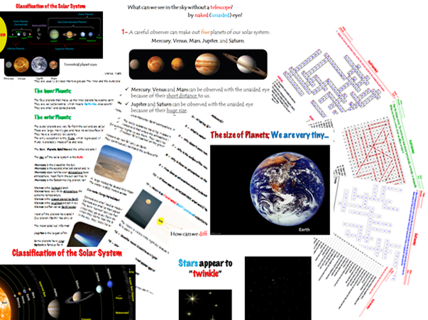 Bundle 1 - Space (Astronomy) - Solar System