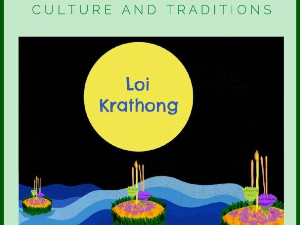 Loi Krathong Picture Book and Activity booklet