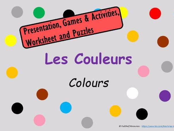 French Colours (Les Couleurs)