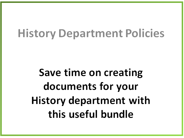 The History Department Bundle
