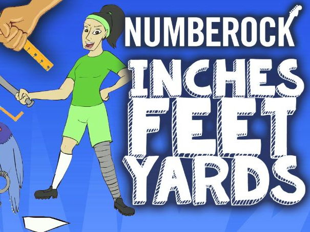 Inches, Feet & Yards: KS2 Length Song