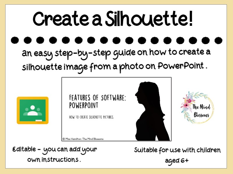 How to Create a Silhouette on PowerPoint