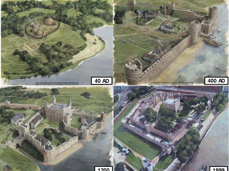 Tower of London through Time