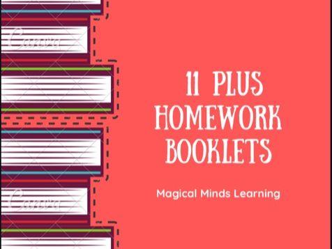 11 Plus Homework Booklet - Year 4