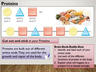 KS4 B3.3 Chemistry of Food