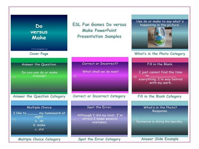 Do versus Make PowerPoint Presentation