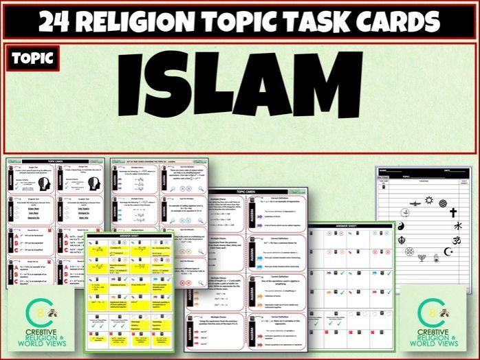 Islam Task Cards
