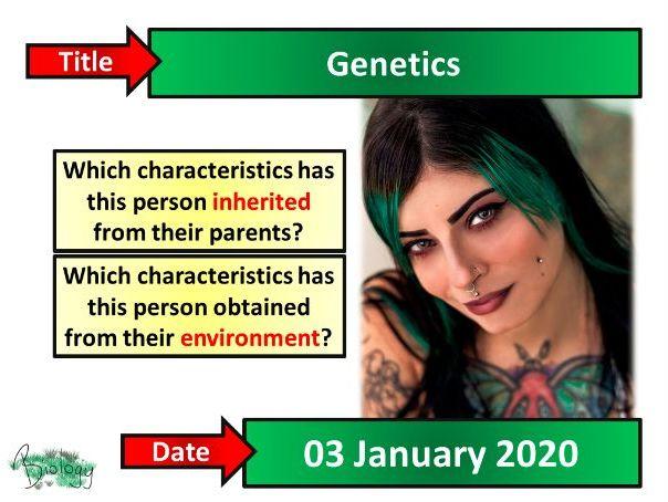 Genetics - AQA Activate