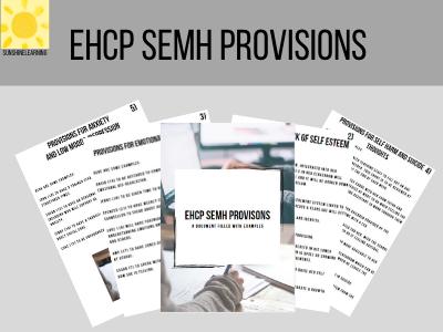 EHCP SEMH provisions