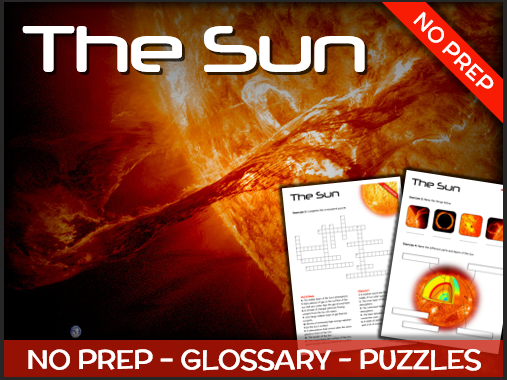 The Sun - Puzzles & Glossary