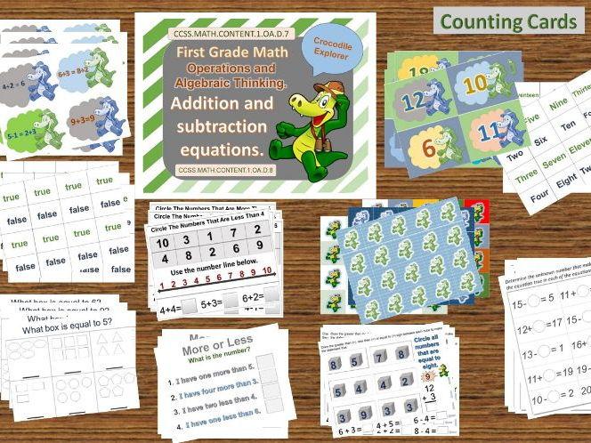 First Grade Math Equations