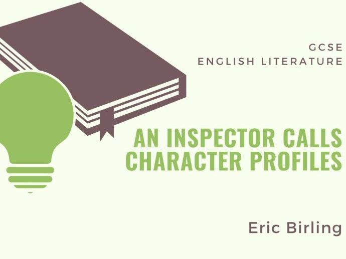 An Inspector Calls - Eric - Character Profile