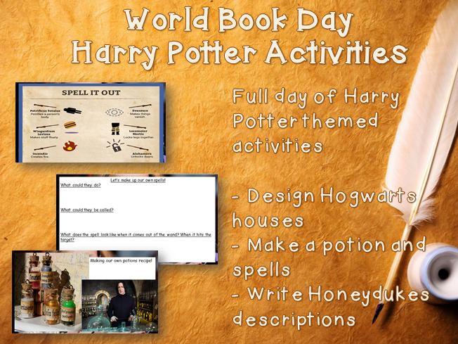 World Book Day - Harry Potter Activities