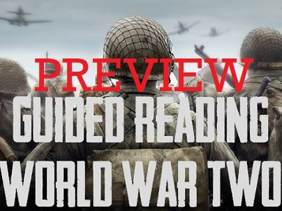 Guided Reading: PREVIEW UKS2 - Exploring World War Two