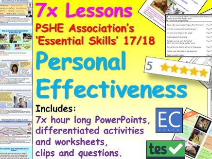 Personal Effectiveness PSHE