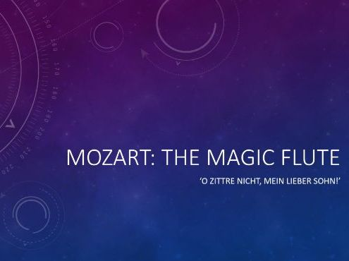Analysis of The Magic Flute - Mozart