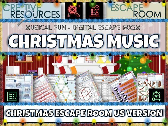 Christmas Music Escape Room - US Version