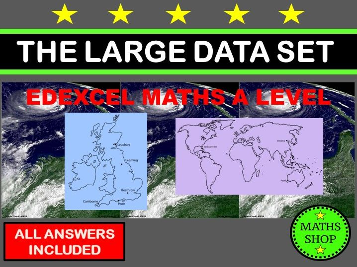 Large Data Set Edexcel