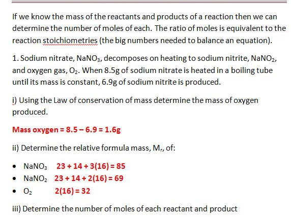 mole ratios and balancing equations by gerwynb