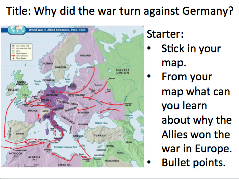 Year 9 - WW2 Lesson 6 why did Germany lose?