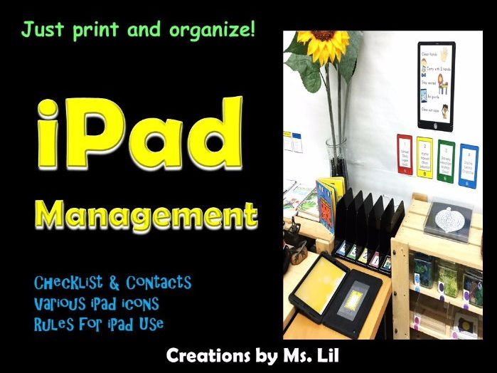 iPad Management Tool Kit  ::  iPad Stations  ::  Technology Management
