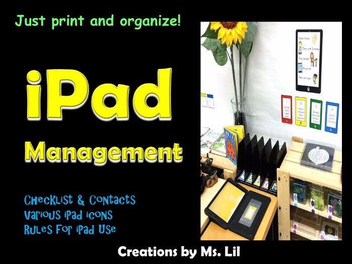 iPad Management Tool Kit  ::  iPad Stations  ::  Technology Management
