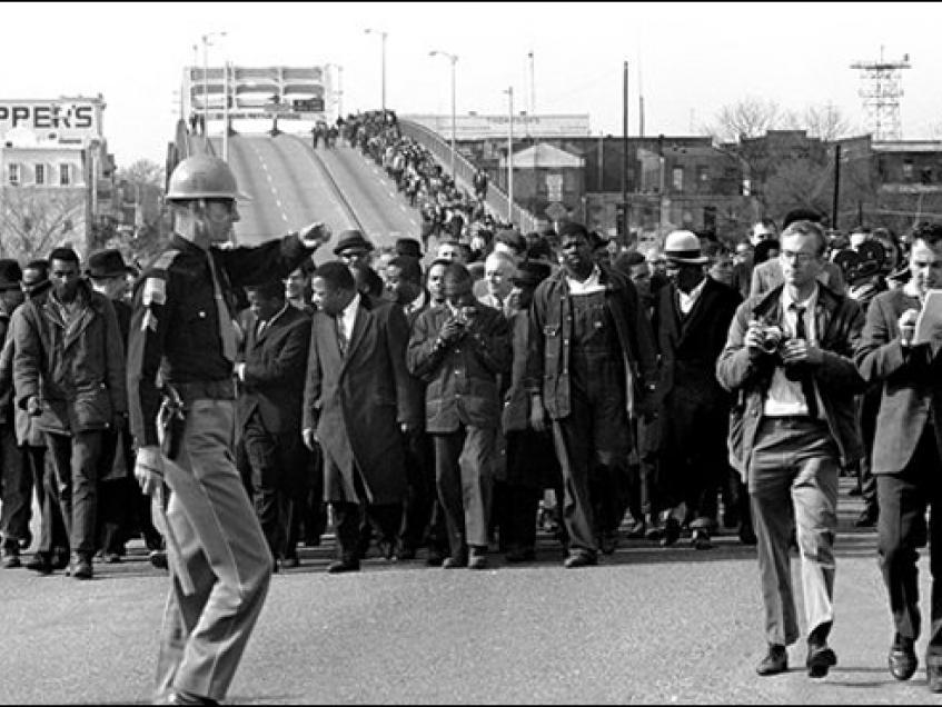 The March from Selma to Montgomery, 1965