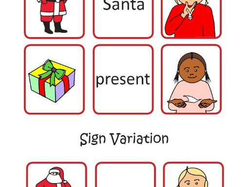 Dear Santa illustrated story Activity download with BSL & SSE video links