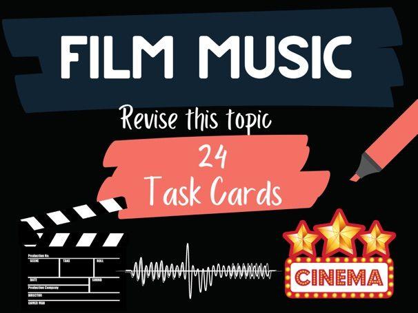 Film Music For Screen Task cards
