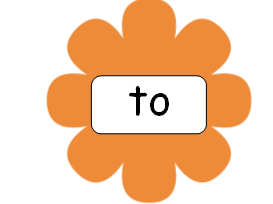 Phase 2 Tricky Words on Flowers