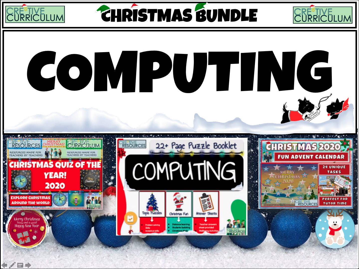 Computing Christmas 2020 Bundle
