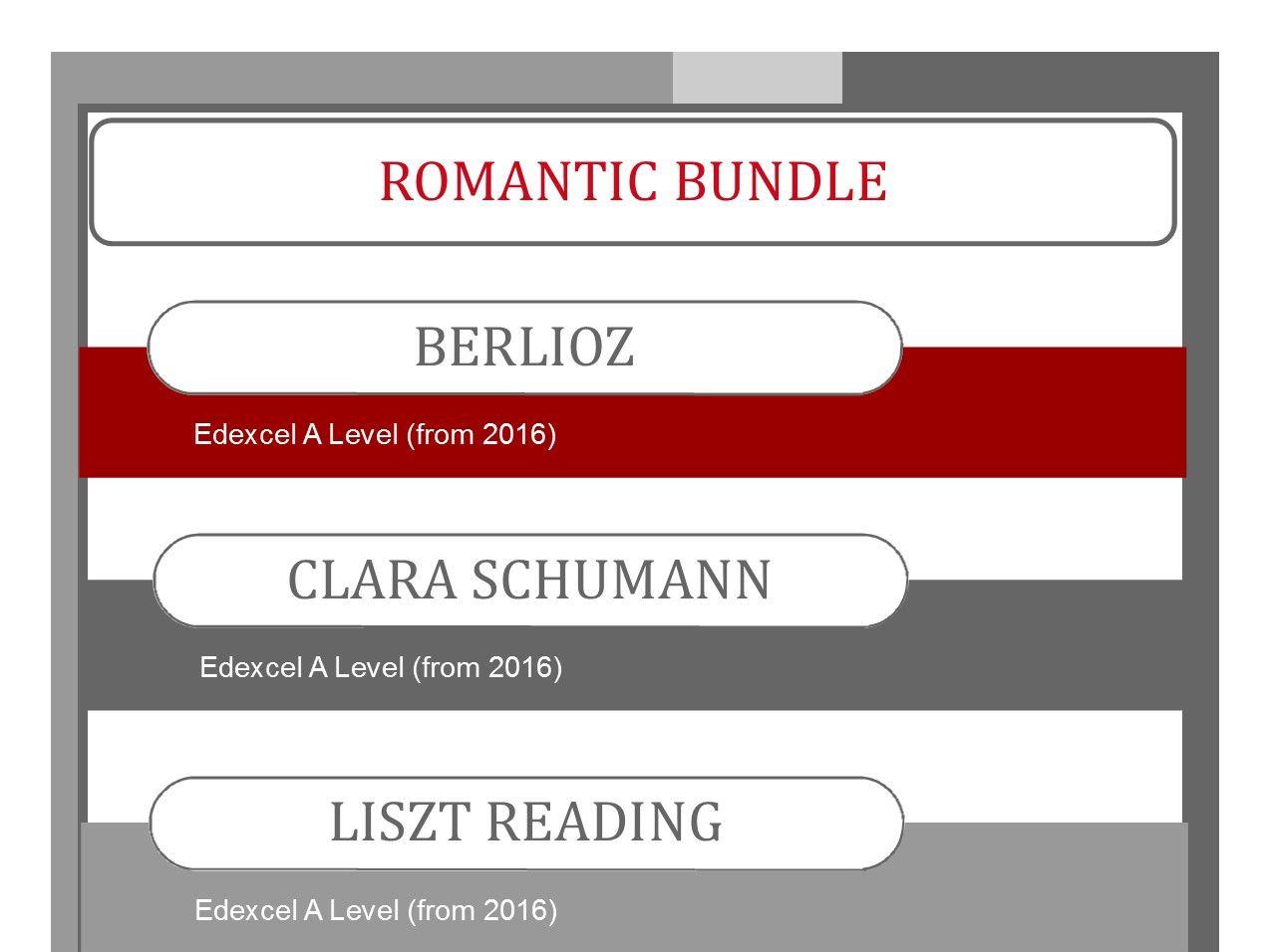 Romantic Bundle for Edexcel Music A Level (2016-)