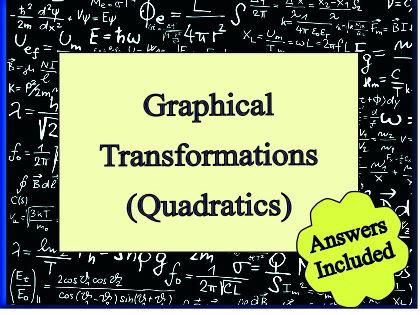 Graphical Transformations - Quadratics