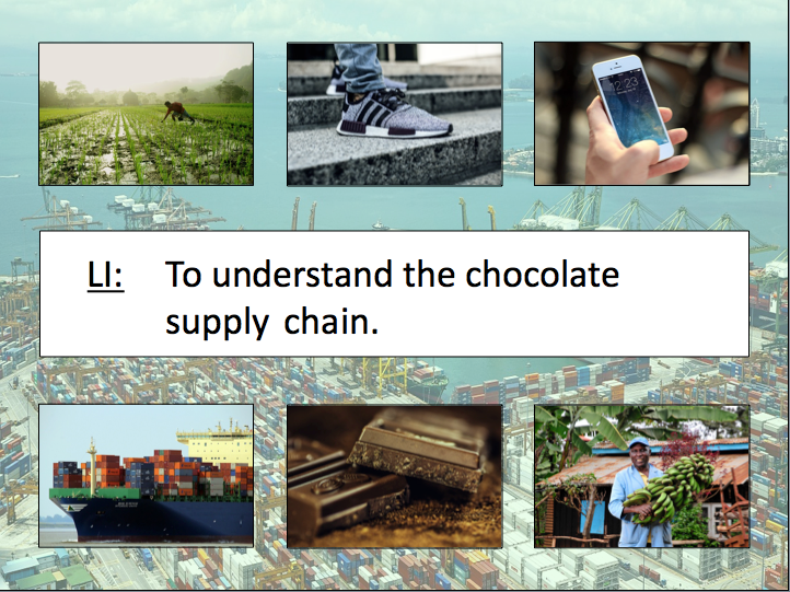 Trade KS2 - Exploring the chocolate supply chain