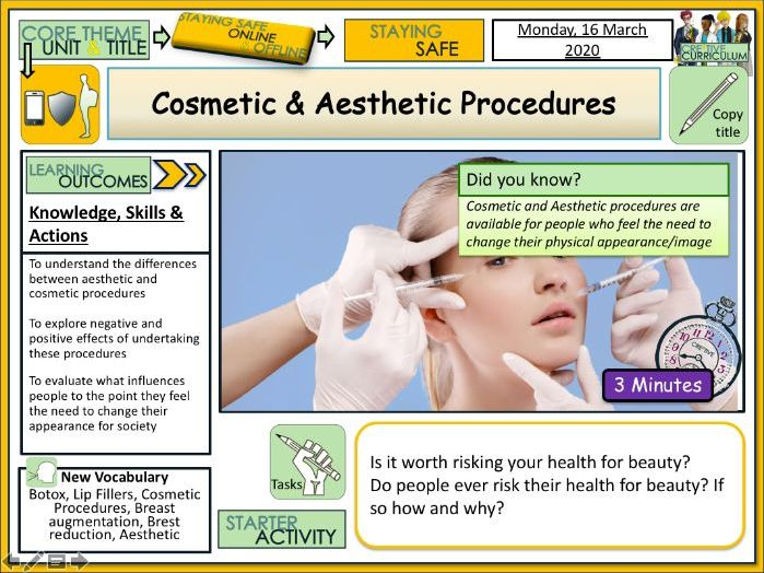 Aesthetic + Cosmetic procedures - Plastic Surgery