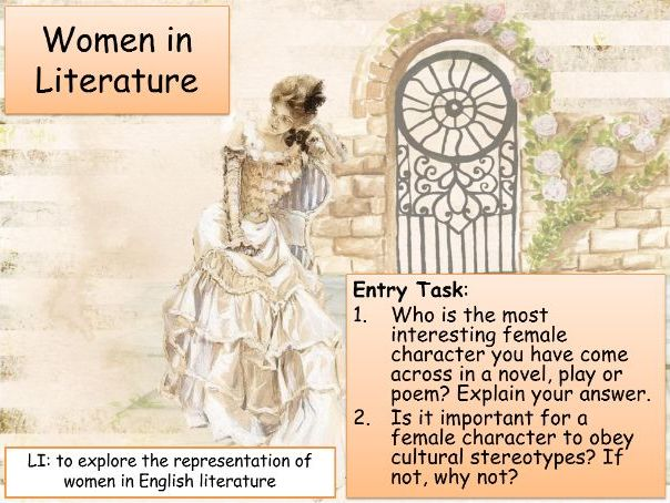 Women in Literature Unit of Work