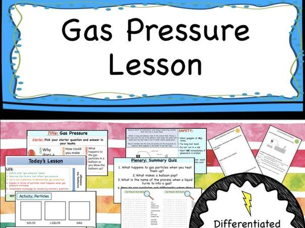 Gas Pressure Lesson