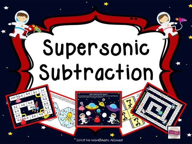 Reception/Year 1 Maths Subtraction Games and Activities