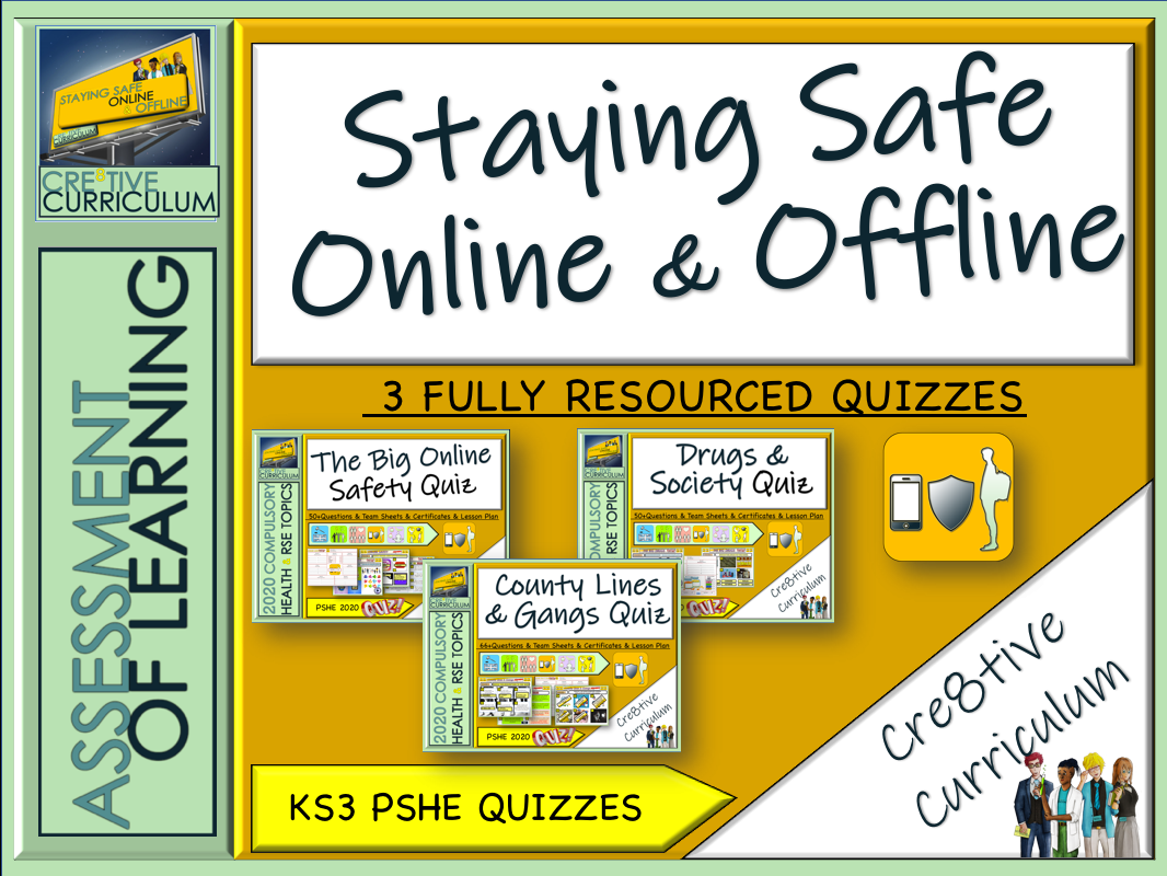 Safety Risk PSHE Quizzes