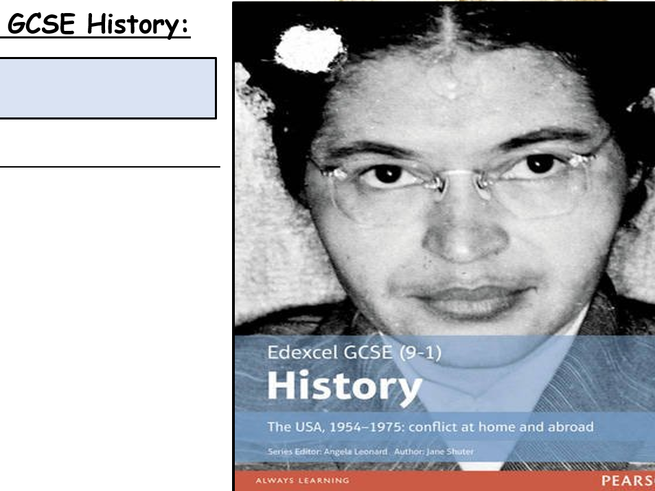 GCSE History 9-1 Civil Rights and Vietnam
