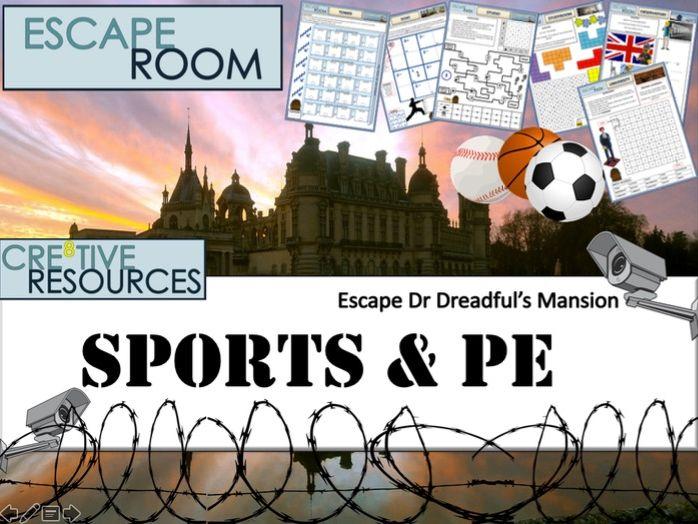 PE Escape Room - Back to School