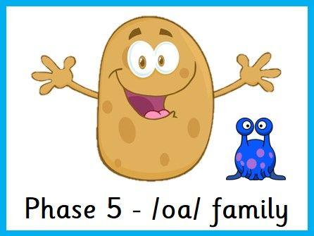 Hot Potato - Phase 5 /oa/ family