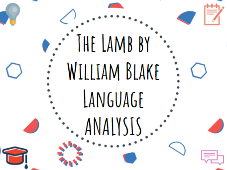The Lamb by William Blake - analysis #Romanticism #Poetry #GCSE #English