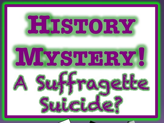 Emily Wilding Davison - A Suffragette Suicide? HISTORY MYSTERY!