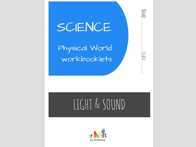 SPECIAL EDUCATION (SCIENCE) - LIGHT, SOUND, EYES, EARS, VIBRATIONS science workbooklet