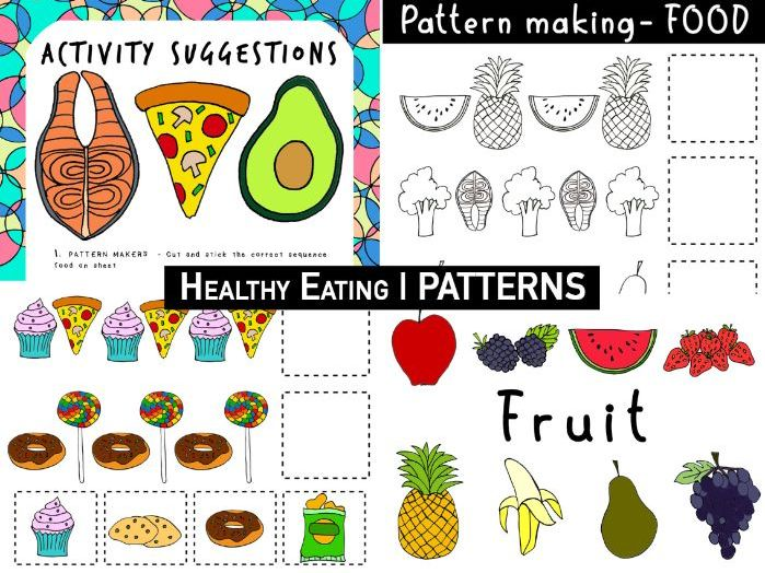 Healthy Eating | EARLY YEARS FOOD | Patterns